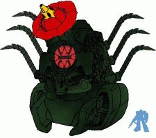 Mecha Biollante Rose Form by dracostarcloud
