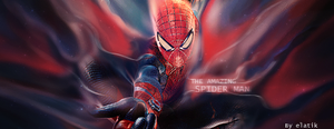 the amazing spiderman sign smudge by elatik-p