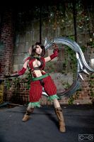 Riddle as Tira from Soul Calibur by moshunman