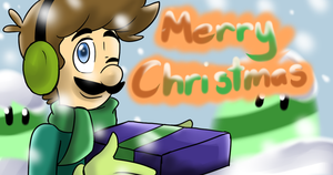 Merry Christmas ^^ by MariobrosYaoiFan12