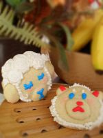 Decorated sugar cookies. by RETRO-monster