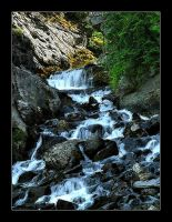 Mountain Stream by longhorns5