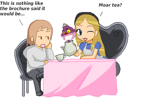 The worlds worst tea party... by shahua