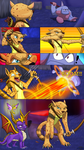 Spyro: Messn' With Hunter by Lifefantasyx
