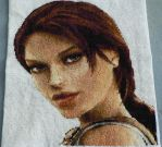 Tomb Raider: Anniversary - Cross Stitch by rose6119