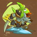 Viking Squad: Snowclaw Fishback by jouste