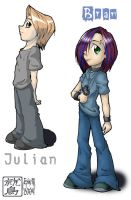 SD Bran and Julian by washipuppy