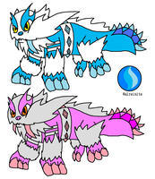 Mega Walrein remade by YingYangHeart