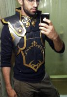 more in progress ganondorf twilight princess armor by stopthedance