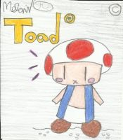 Chibi Toad by Meli-chan3
