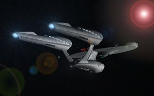 USS Enterprise STXI by enterprisedavid