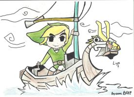 Link Wind Waker by AquacoolBRA