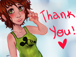 Thank You So Much!!!!! by madhatter2k13
