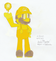 Collab Entry: Gold Mario. by GSVProductions
