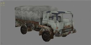 Post_nuclear truck by Pripyat333