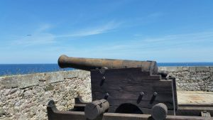 2014.06.12 | Fort la Latte's cannon by Stock-Stock-Stock
