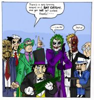 Batman Villains Power Hour by TheMonkeyYOUWant