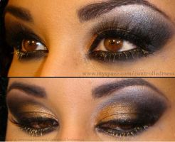 Gold and Black Eyes by anilorac186