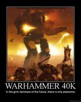 Warhammer 40k in a nutshell. by Ace-of-Armana