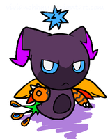 Dark Fly chao thing by vivianchhay