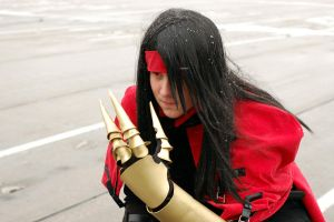 Vincent Valentine ready for action by aeris5312