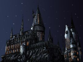 :: Hogwarts :: by wasting-air