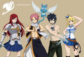 Fairy Tail's Stongest Team by Tonesko