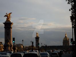 Approaching Pont Alexandre III by Britwitch-1981