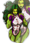 She-Hulk color by suppa-rider