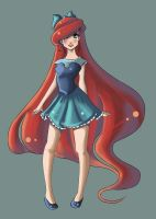 Disney Fashion Ariel by redinu