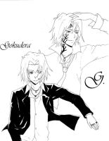 G. and Gokudera by xxDevilsAngel28xx
