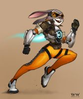 Tracer Judy by leonwoon