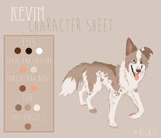 Kevin - Character sheet by hecatehell