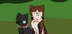 Scourge and Tigerstar by GingaFan4everAndNow