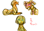 Creature sheet 4 by The-Elusive-Cat