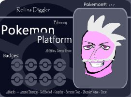 Blissey Battle Card by Komal-Songfury