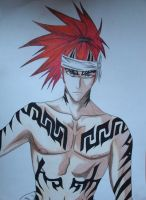 Renji Abarai for 0Estella0 by Rumiko-san