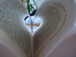 Book's heart. by WsiomenPhotograph