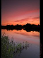AfterGlow Over Moulden PondIII by GMCPhotographics