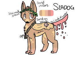 Seadog Adoptable Custom by friendfry