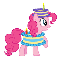 Pinkie Pie Cake Costume by EonMaster