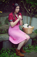 Aerith Gainsborough - FFVII Cosplay by Dragunova-Cosplay