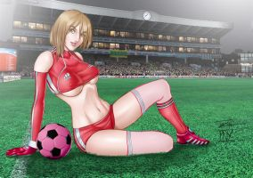 Soccer Girl by Tozani by tony058