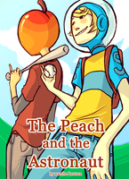 fruit and spacestronaut by umbles