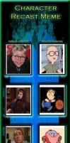 A Christmas Story Character Recast by SithVampireMaster27