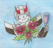 Birthday toast from Prowl by Nortstar