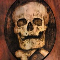 Ancestor second view Pyrography by runehammer9