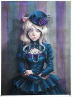Cat Lady: Gothic by Claudia-SG