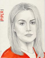 Piper Chapman (Orange is the New Black) by julesrizz