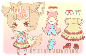 Auction : Merletto Doll Species 1 [CLOSED] by HyRei